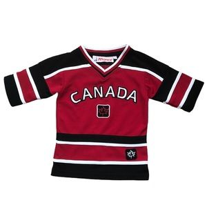 Vintage Team Canada Hockey Jersey Shirt Sports 3T